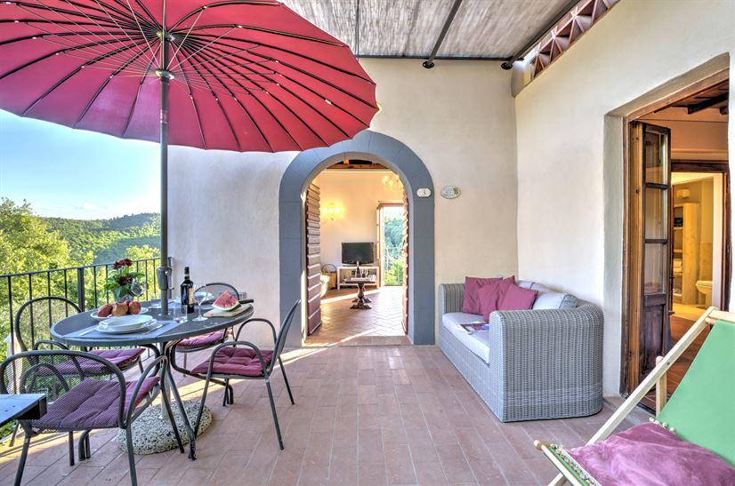 Tuscany villa casa della nonna c montefienali rental for Planimetrie della casa della nonna