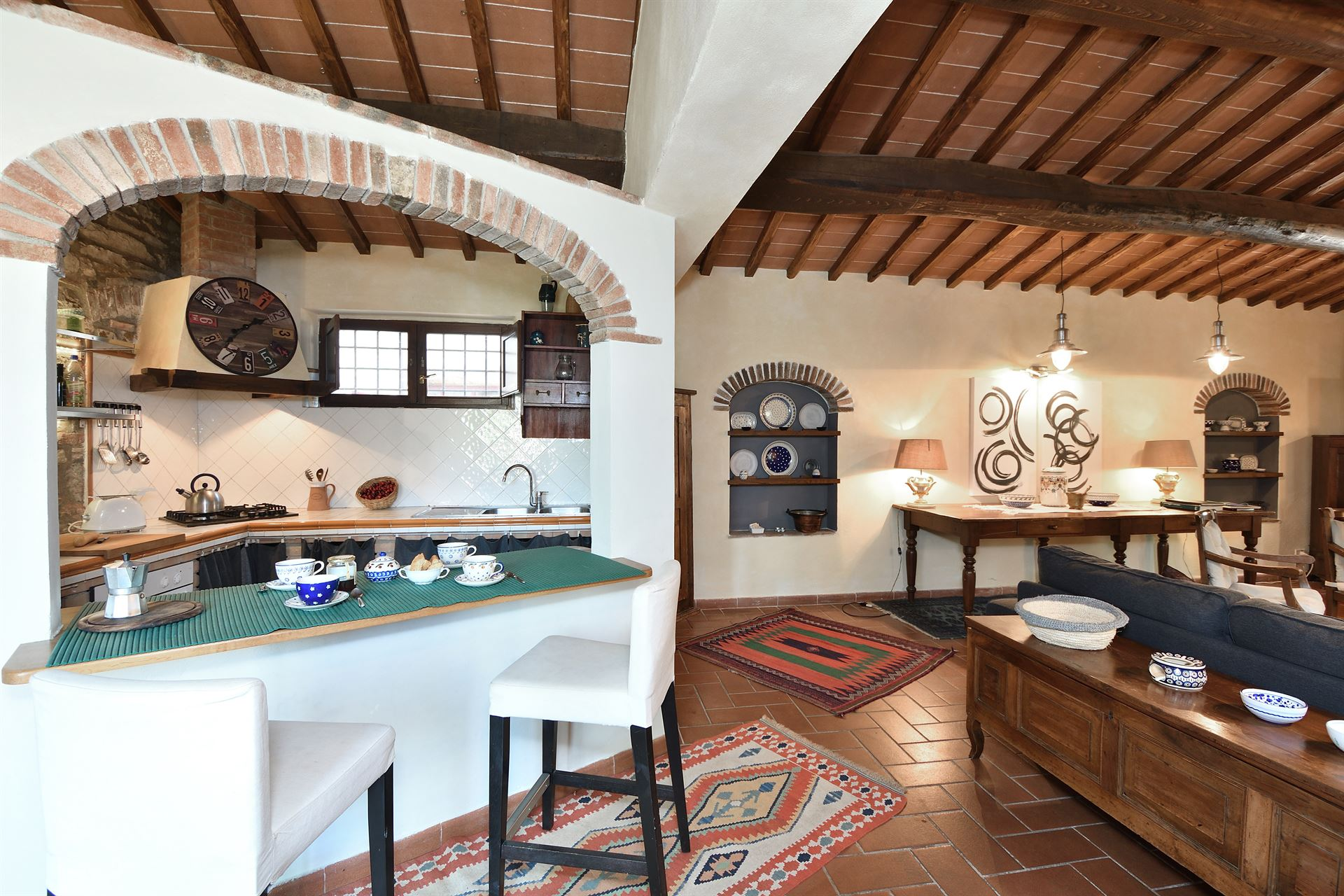 Tuscany Villa Villa Le Piane 4 Le Piane Rental In Gaiole In
