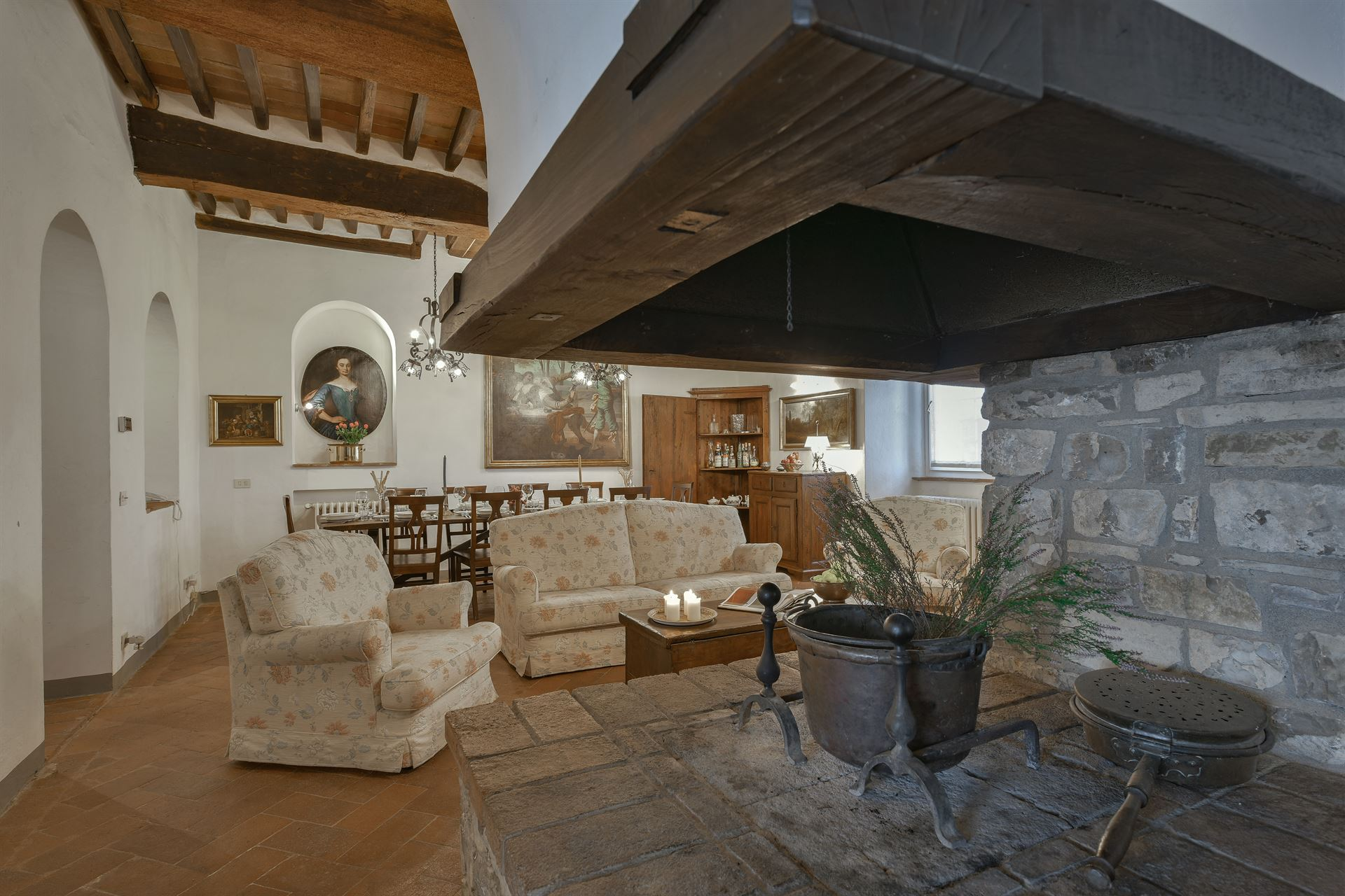 Penny Tiles Badkamer : Tuscany villa casale la canonica rental in pietrafitta