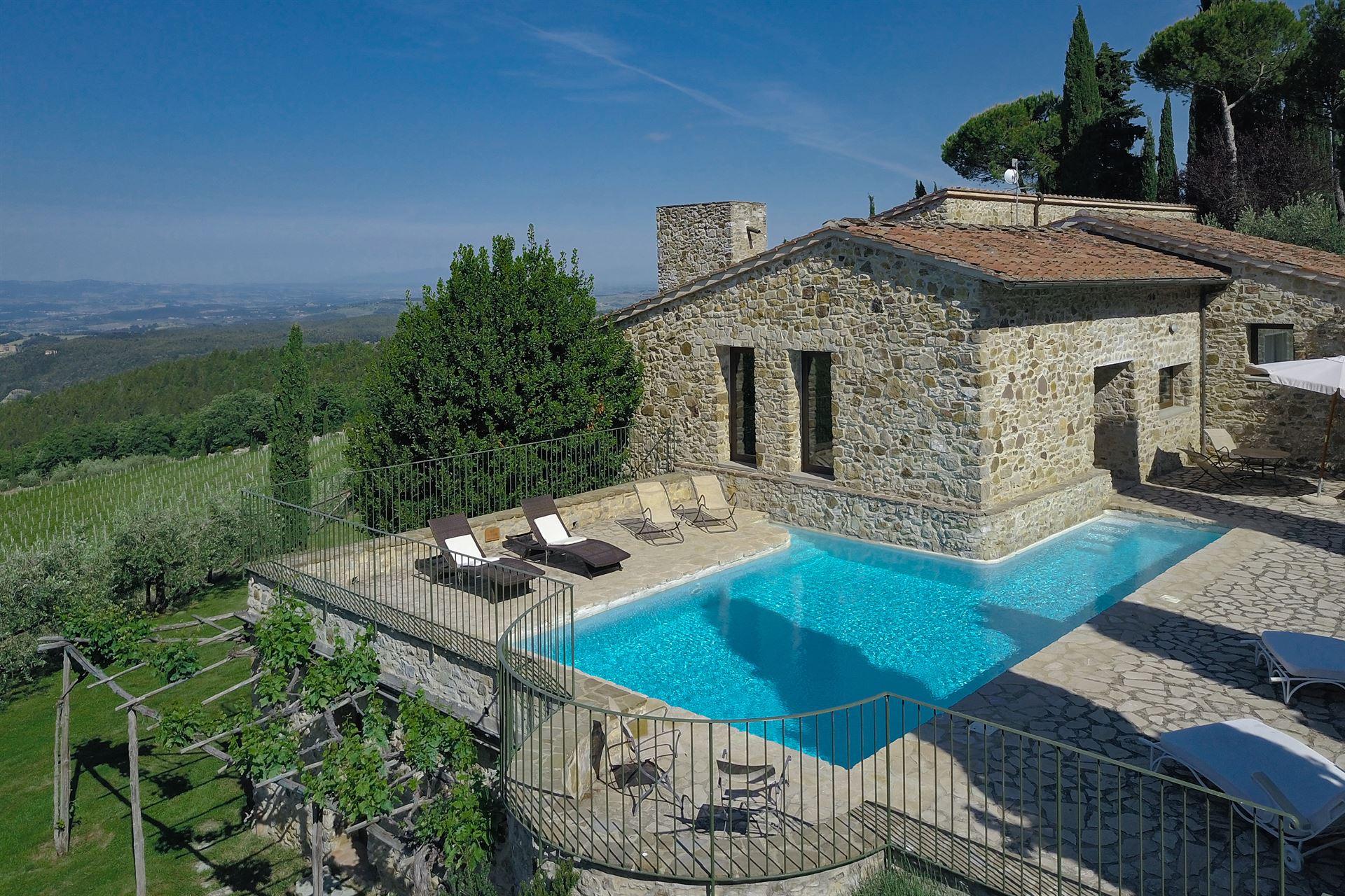 Tuscany Villa Macia Viva - Rental in Castellina in Chianti - Siena ...