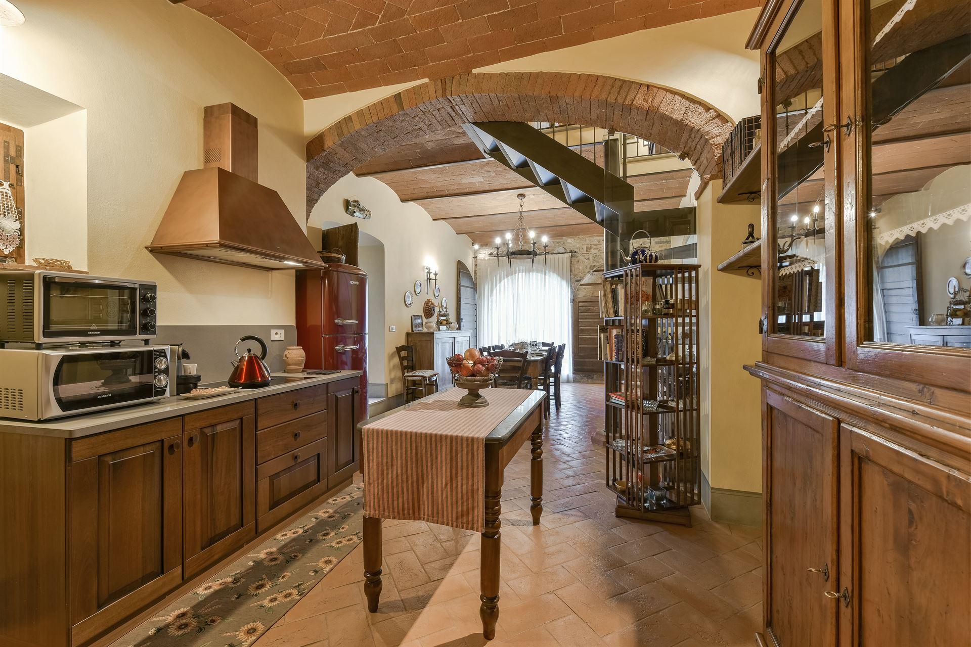 Tuscany Villa Le Volte - Rental in Casanuova di Ama - Gaiole in